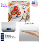 11 Lbs Capacity Slim Compact Digital Kitchen Scale Multifunctional Food Scale
