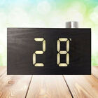1pc Digital Multi-funtional LED Modern Clock with Snooze Temperature for Bedroom
