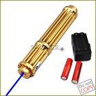 2WATTX3 450nm Adjustable Focus Blue Laser Pointer Visible Beam Cigarette Lighter