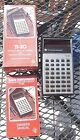 Texas Instruments TI 30 Calculator Box and Instructions