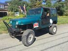 1987 Jeep CJ  1987 Jeep Wrangler YJ  from Arizona Very solid! Pickup in MA Cash In person!