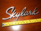 Buick Skylark Trunk Emblem Nice OEM Original with 1 Round Pin - Late 1965 & 1966