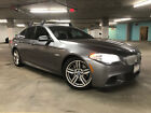 2013 BMW 5-Series M Sports Package | Fully loaded 550i 6-speed Manual Transmission | M Sports Package | Fully Loaded