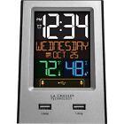 La Crosse Technology Alarm Clock/Charging Station- Model# 617-1614