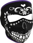 Zan Headgear Neoprene Full Face Mask Highway Honeys Muerte Womens Girls WNFM078B