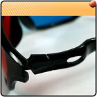 5X PRO Red/Blue Anaglyph Cyan 3D Glasses For Movie Game