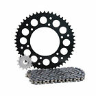 Primary Drive Alloy Kit & X-Ring Chain Black Rear Sprocket - Fits: KTM 144 SX