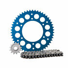 Primary Drive Alloy Kit & X-Ring Chain Blue Rear Sprocket - Fits: Husqvarna FX