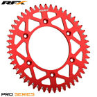 For Honda CR 125 R 1989 RFX Pro Series Elite Rear Sprocket Red 48T