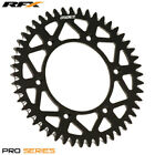 For Honda CR 500 R 1985 RFX Pro Series Elite Rear Sprocket Black 52T