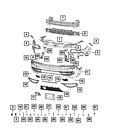 Genuine Mopar Nut/Sprin-Snap In 6511722AA
