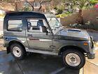 1990 Suzuki Samurai  1990 Suzuki Jimny Samurai 4x4 Turbo Panorama TinTop