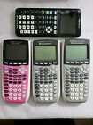 Texas Instruments TI-84 Plus Graphing Calculator Budle (x4)