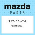 L12Y-33-25X Mazda Platedisc L12Y3325X, New Genuine OEM Part