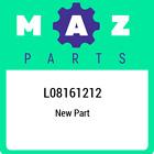 L081-61-212 Mazda Hose no2water L08161212, New Genuine OEM Part