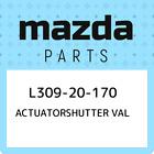 L309-20-170 Mazda Actuatorshutter val L30920170, New Genuine OEM Part