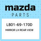 LB01-69-170D Mazda Mirror lh rear view LB0169170D, New Genuine OEM Part