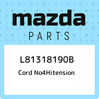 L81318190B Mazda Cord no4hitension L81318190B, New Genuine OEM Part