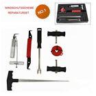 7 Pcs Universal Windshield Repair Tool Kit Remover Automotive Tools Small Parts