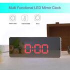1 Pcs LED Display LED Clock Alarm Clock Mirror Clock for Living Room Home Office