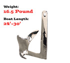Sea-Hook II Claw Anchor, Cast 316 Stainless Steel, 16.5lbs by Sea-Dog (318607)