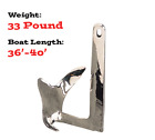 Sea-Hook II Claw Anchor, Cast 316 Stainless Steel, 33lbs by Sea-Dog (318615)