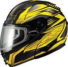 GMAX GM64S Modular Snow Carbide Helmet G2641233 TC-4 XS Black/Yellow