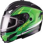 GMAX GM54 Terrain Snow Helmet G2546224 Sm Black/Green