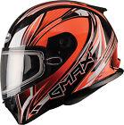 GMAX FF49 Sektor Snow Helmet G2491693 TC-26 XS Hi Viz Orange/White
