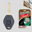 Rechargeable Battery 3B Remote Key Fob 433MHz ID44 for BMW EWS 3 5 X series HU58