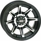 Matte Black w/Machined 12x7, 4/4, 2+5 STI HD2 Alloy Aluminum Wheel - 12HD204