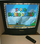 """Panasonic CT-20G4A Color Television with Remote CRT 20"""" Tube TV Retro Gaming"""
