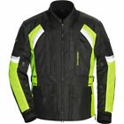 Tourmaster Sonora Air 2.0 HiViz Vntd Txtle Motorcycle Jacket-Blk/HiViz All Sizes