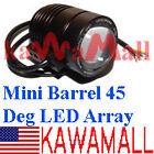 Night Vision IR Infrared LED Light Array Mini Barrel 45