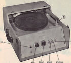 1949 ARTHUR ANSLEY SP-1 AMPLIFIER SERVICE MANUAL REPAIR