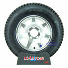 "(2)-Trailer Tires LoadStar ST 175/80D13 Load Range C 13"" Rims Aluminum Wheels"