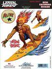 SURF FREAK Surfer BOAT STICKER/DECAL Detailing SET by Lethal Threat Art REITVELD