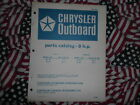 Chrysler Outboard 8 HP Parts Catalog 82 83 HF H