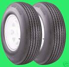 """Two New 4.80-12 """"C"""" (6 ply rating) Deestone Boat RV Camper Trailer Tires 480 12"""