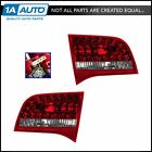 Taillights Taillamp Inner Reverse LH & RH Pair Set for 09-11 Audi A6 Wagon Avant