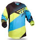 Fly Racing 2014 Adult Kinetic Blocks Blue/Hi-Vis Jersey Org/Blk Size 2XL XXL