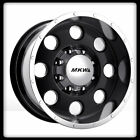 "16"" MKW OFFROAD M84 BLACK RIMS & NITTO LT305-70-16 TERRA GRAPPLER TIRES WHEELS"
