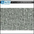 for 88-91 Olds Cutlass Calais 4 Door Cutpile 8046-Silver Complete Carpet Molded