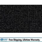 for 1985-88 BMW 535i 4 Door Cutpile 801-Black Complete Carpet Molded
