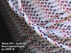 "10mm VPC, per-ft. 3/8"" New England Ropes White VPC - ( 2830-10) Sheets Halyards"