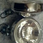 vintage car truck mini cooper round chrome glass fog light bmw e30 GTI JDM GT MG