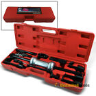 13Pc Dent Puller Auto Body Repair Kit w/ 10LB Slide Hammer Puller Extractor Case