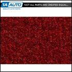 for 84-86 Cutlass Cruiser Wagon Passenger Area Carpet 815-Red Cutpile Molded