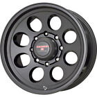 18x9 Black Level 8 Tracker 8x170 +0 Wheels Nitto Trail Grappler 35x12.50R18LT