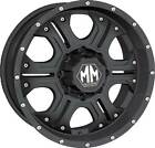 "18"" MAYHEM HAVOC 8X170 RIMS WITH 255-60-18 NITTO TERRA GRAPPLER WHEELS TIRES"